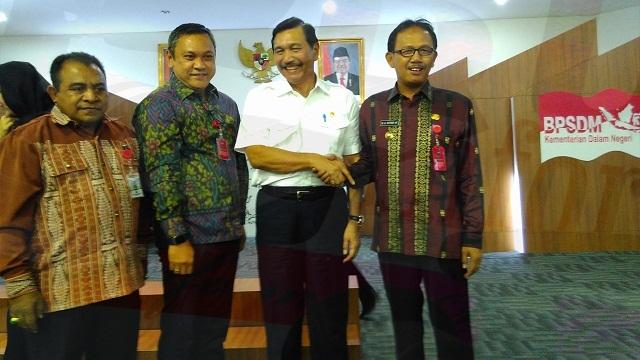 Agus Istiqlal Hadiri Undangan Kemendagri di Jakarta