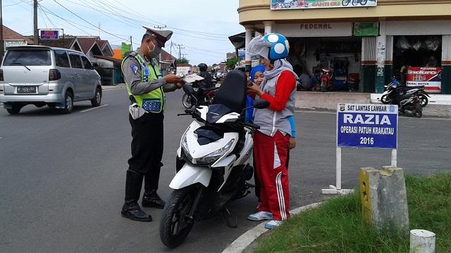 Polres Lampung Barat lakukan Operasi Patuh Krakatau