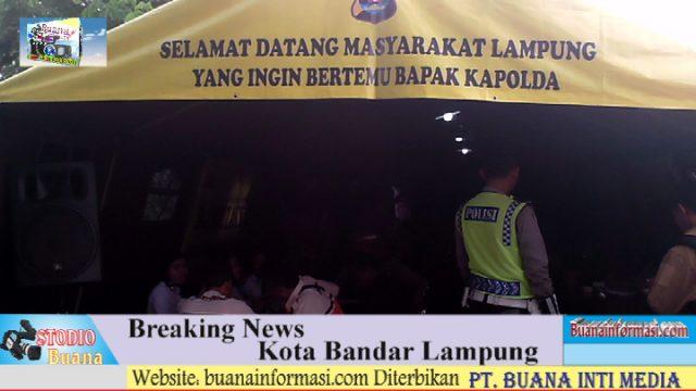 Kamis : Kapolda Lampung Berkantor di Lap Saburai
