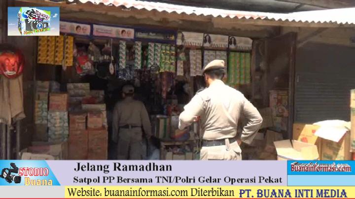 Jejang Ramadhan Satuan Aparat Lampura Gelar Oprasi Pekat 2016