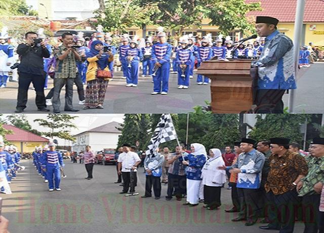Bupati Melepas Pawai Taaruf Songsong Ramadhan