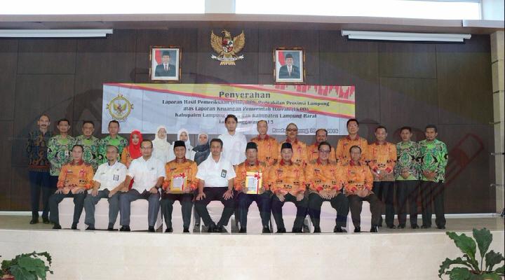 Lampung Utara Terima LHP oleh BPK Perwakilan Lampung