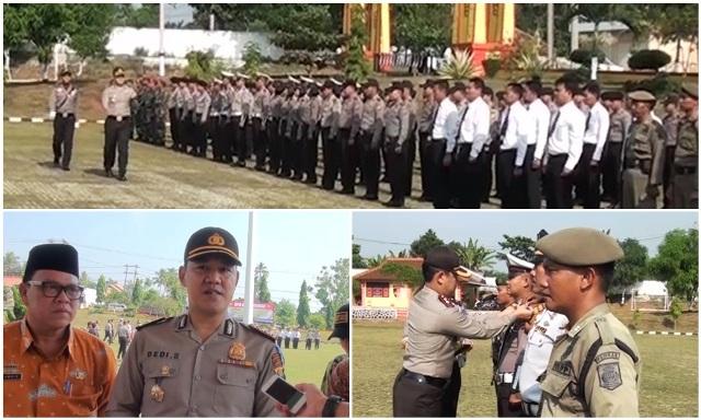 Polres Lampura Menggelar Apel pasukan Operasi Ramadniya-