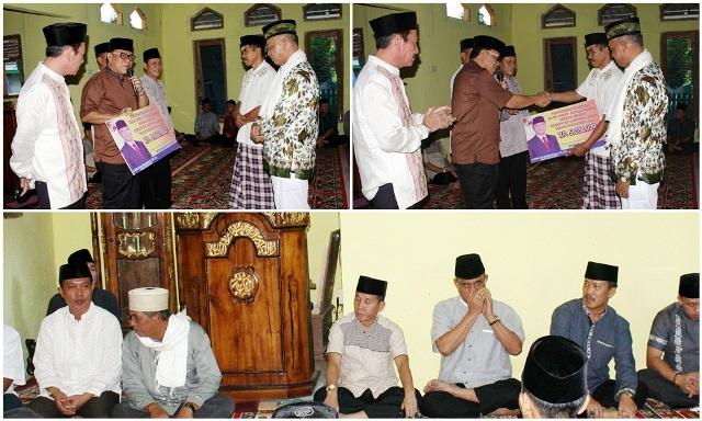 Tim 3 Safari Ramadhan Pemkab. Lampura di Masjid Masjid Baitul Amin