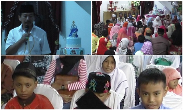 Ratusan Anak Yatim Menghadiri Ulang tahun Aisyah