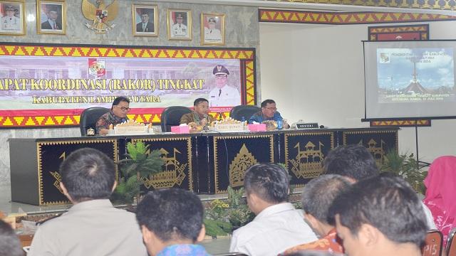 Rakor Bulanan Tingkat Kab. Lampung Utara