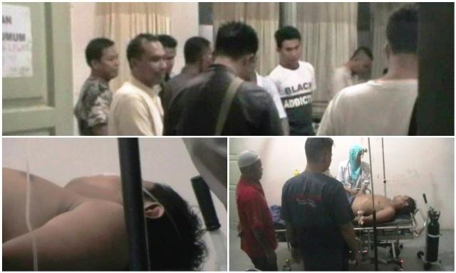 Anggota Polres Lamteng Nyaris Tewas Dikeroyok Warga