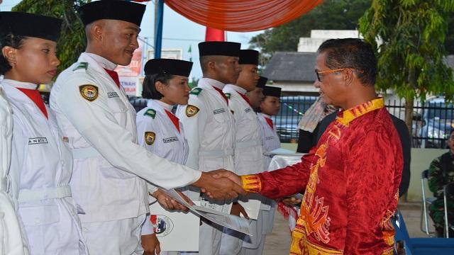 Paskibra Mesuji Tahun 2016 Resmi di Bubarkan