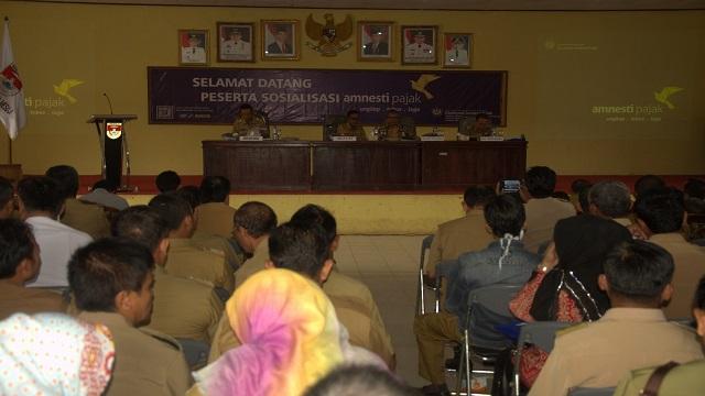 KPP Pratama Kotabumi Sosialisasikan Tax Amnesty di Mesuji