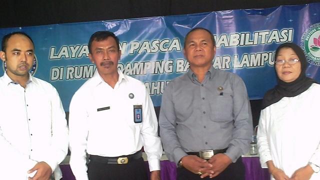 Rumah Damping dan BNN Lampung Buka Pelayanan Paska Rehab Tahap II