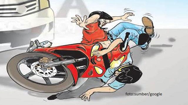 Mobil VS Motor,Mengakibatkan 2 Meninggal