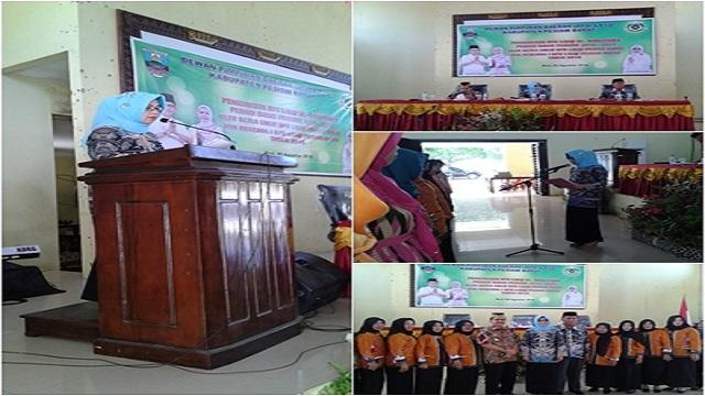 Pengukuhan DPC Lasqi se-Kabupaten Pesisir Barat