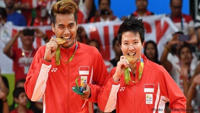 Tantowi/Liliyana Sabet Medali Emas di Olimpiade Rio 2016
