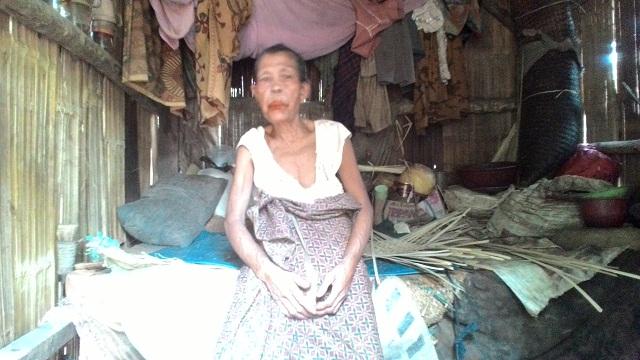 Perjuangan Rubaidah Nenek Renta Sebatang Kara Dalam Kemiskinan
