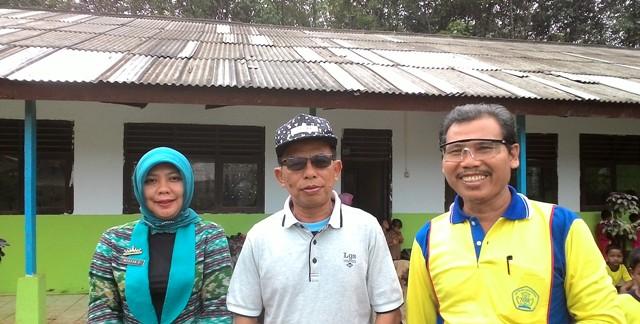 Kadisdik Lampura Kunjungi Sejumlah Sekolahan di Abung Selatan
