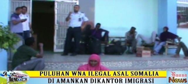 Puluhan WNA di Amankan Imigrasi Kalianda