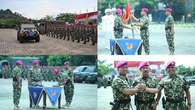 Kolonel Marinir Hermanto Jabat Komandan Brigade Infanteri-3 Marinir