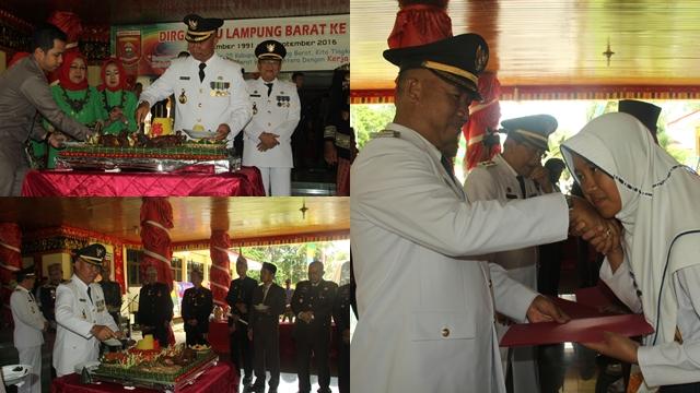 137 Orang Terima Pengharaan Bupati Lampung Barat