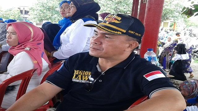 Pol Pp Pesisir Barat Adakan Pertandingan Voli Antar Peleton