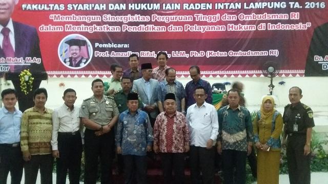 IAIN Lampung Gelar Stadium General bersama Ombudsman RI
