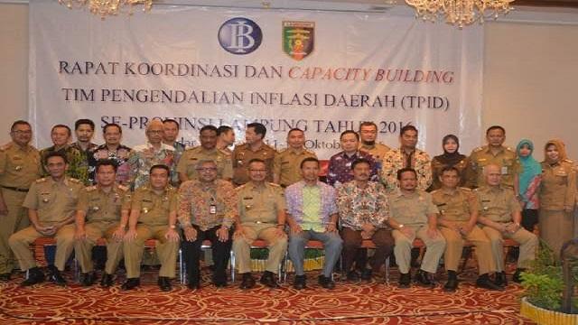 Pemprov Gelar Rakor dan Capacity Building TPID
