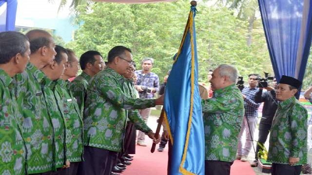 Pengukuhan DPW PERHIPTANI Lampung