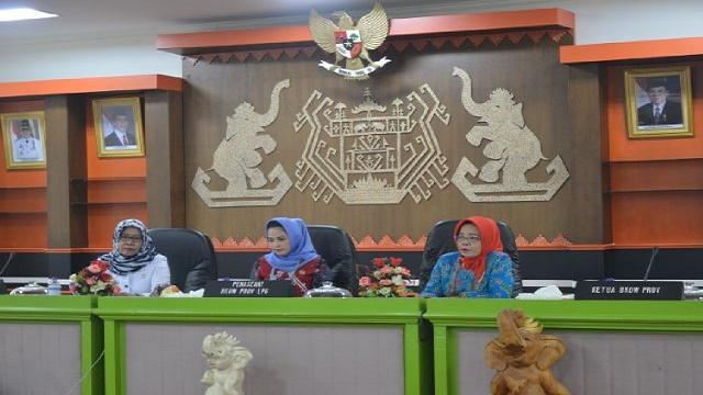 Pemprov Gelar Rapat Kerja Daerah BKOW