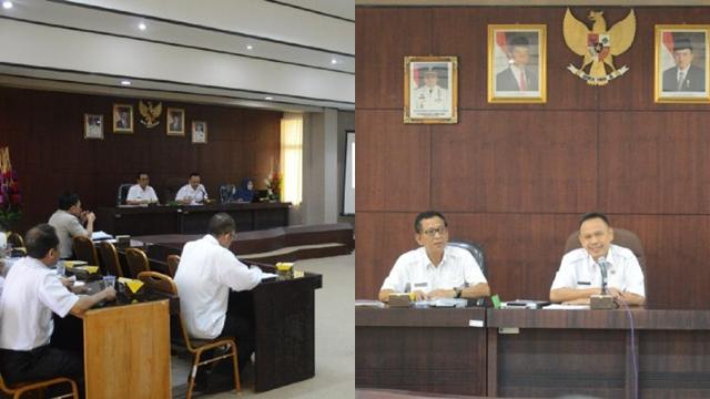 Rakor Penyusunan Revisi RTRWP Lampung