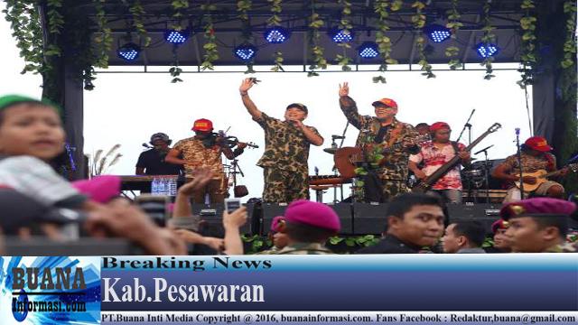 Iwan Fals Semarakan HUT TNI ke-71