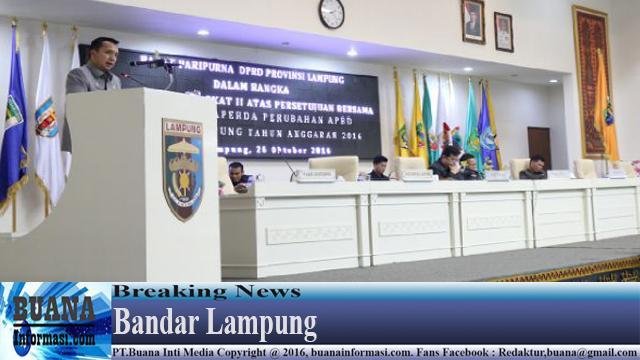 Belanja APBD Provinsi Lampung Meningkat menjadi 10,43 %