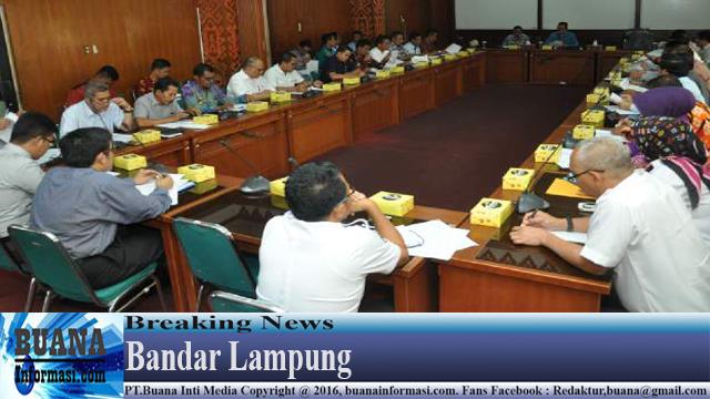 Pemprov Gelar Rapat Persiapan Kunker DPR RI Komisi VI dan VII