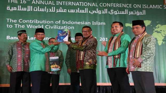 Menteri Agama RI Buka The 16th AICIS 2016