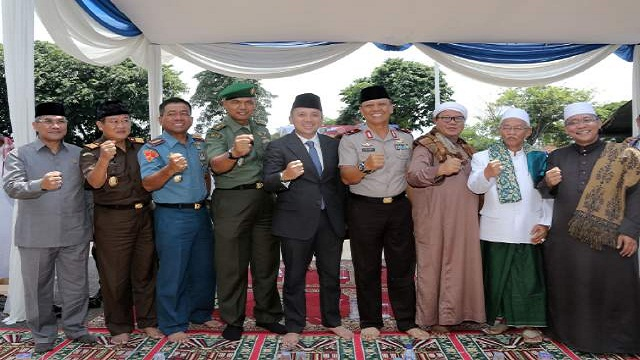 Sholat Istighozah Dan Doa Bersama Sadarkan Kembali Kebhinekaan Bangsa Indonesia
