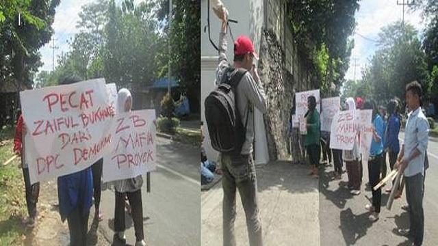 GPK Kejar Mafia Buto Ijo Ke DPD Partai Demokrat Provinsi Lampung