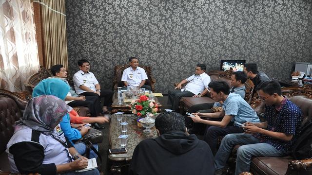 Pemprov Lampung Gelar Konferensi Pers Paparkan Keputusan Kemendagri