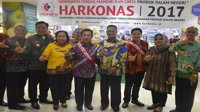Harkonas Ke-V Pemprov Lampung Cek Harga Kebutuhan Pokok