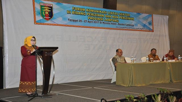 Forum Komunikasi Lintas Sektor Perizinan dan Nonperizinan
