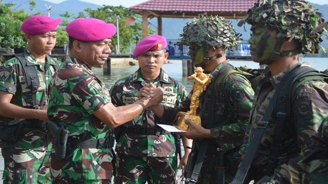 Kolonel Marinir Hermanto Resmi Tutup Lattap Brigif-3 Marinir 2017