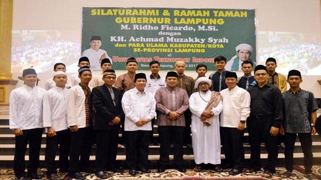 Gubernur Silaturahmi Bersama Para Ulama Se-Provinsi Lampung