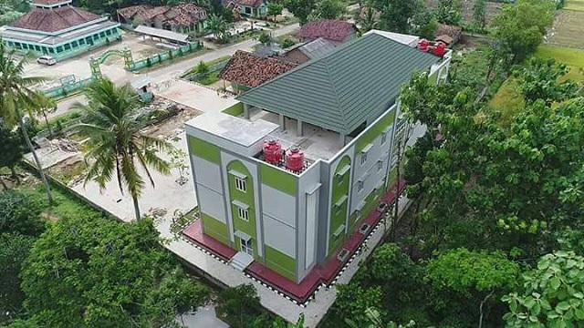 Ribuan Santri di Lampung Siap Huni Asrama Baru