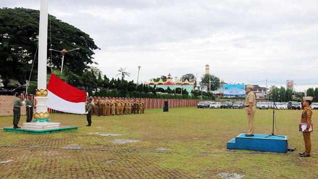 Upacara Mingguan, Sutono : Lampung The Treasure of Sumatera