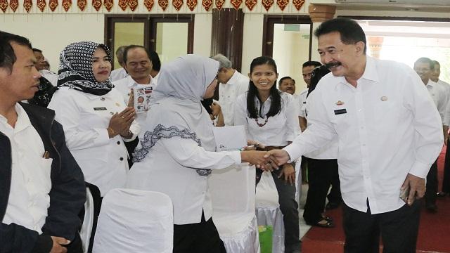 500 Kepsek Se-Provinsi Lampung Antusias Ikuti Gerakan Konsumsi Pangan Aman Melalui Kantin Sehat