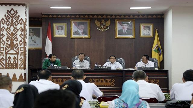 Pemprov Lampung Bersinergi Lakukan Pengawasan Realisasi Anggaran