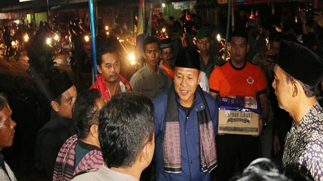 Komunitas Sepeda Motor Di Lampung Tengah Ramaikan Aktivitas Ronda Bupati