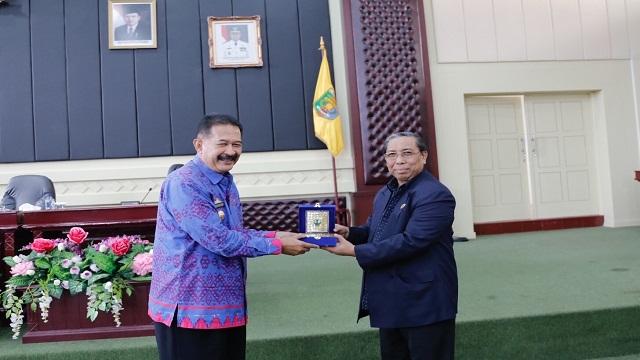 Kunker Pansus I DPRD Provinsi NTB di Provinsi Lampung