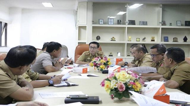 Rapat Pemantapan Persiapan Pelantikan Serentak Bupati dan Wakil Bupati Terpilih