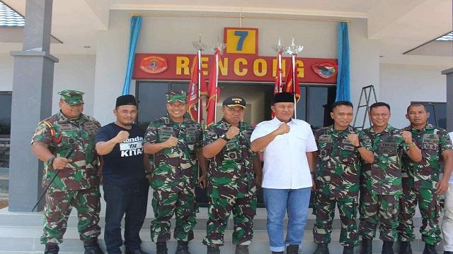 Kunjungan Ke Batalyon Infantri 7 Pemda Lampung Tengah Siap Perkuat Program Gotong Royong Marinir Membangun Desa