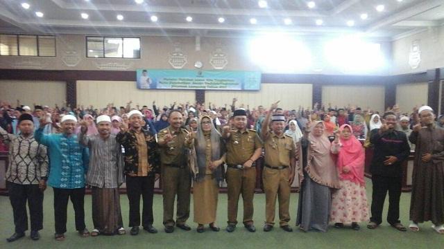 600 Peserta Santriwan dan Santri Wati Lampung Ikuti Validasi Hafidzh dan Hafidzah