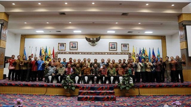 Pasis Dikreg Seskoal Angkatan ke-55 TP 2017 Lakukan Kunjungan ke Provinsi Lampung