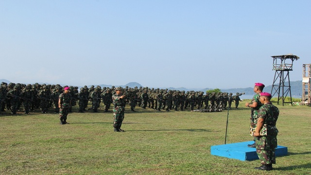 900 Prajurit Petarung Harimau Sumatera Laksanakan Latihan TW II Secara Serentak